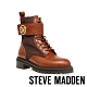 STEVE MADDEN-TRACKSTER 品牌LOGO造型綁帶中筒靴-咖啡色 product thumbnail 1