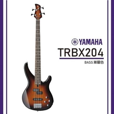 Yamaha TRBX204/電貝斯/公司貨保固/ 漸層色