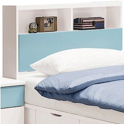 文創集 洛西3.5尺單人床頭箱(二色可選+不含床底)-106x23.5x102cm免組