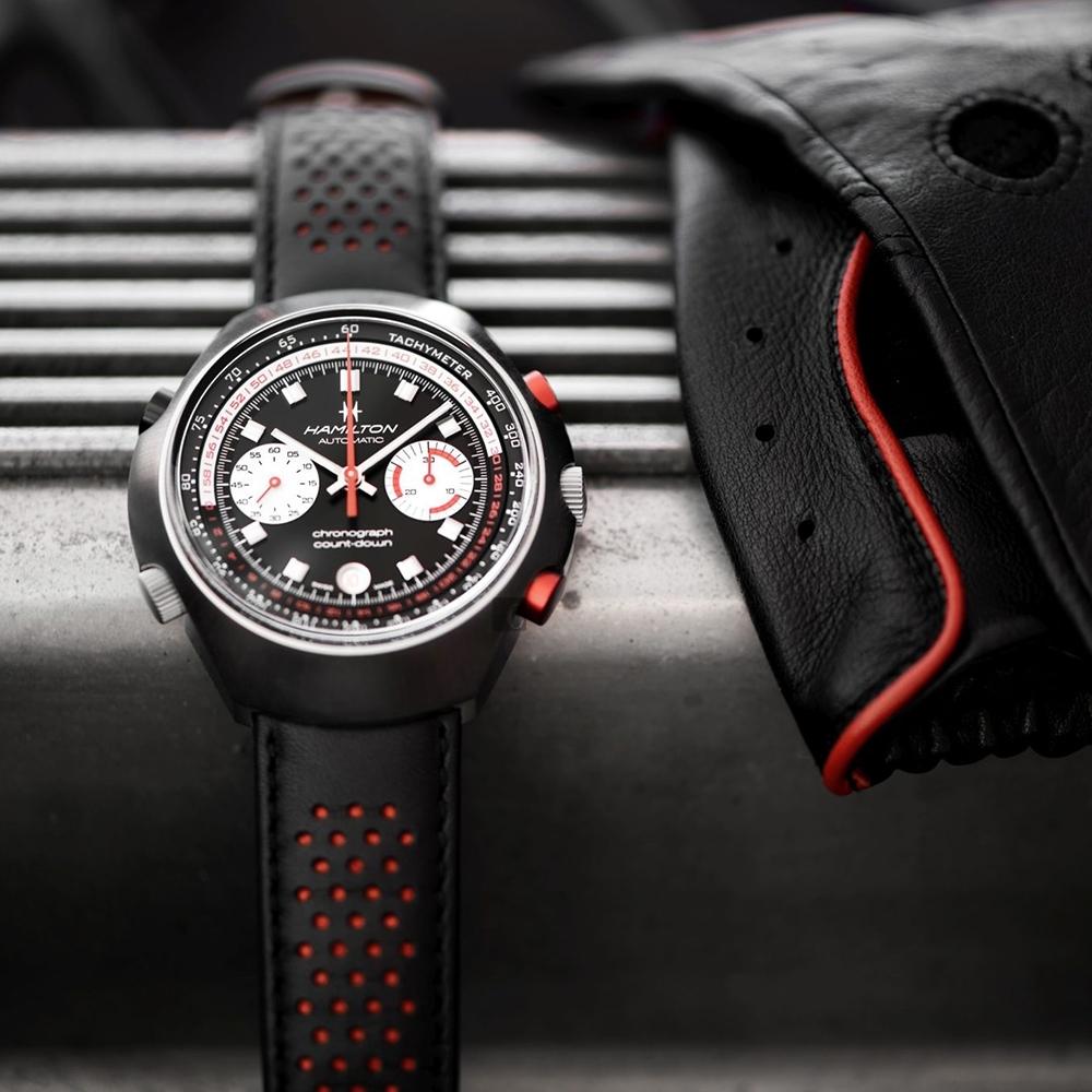 Hamilton 漢米爾頓 Chrono-Matic 50 週年復刻限量機械錶-48mm