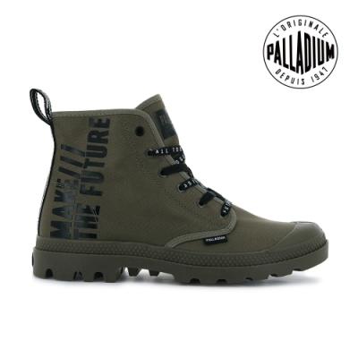 PALLADIUM PAMPA HI FUTURE未來標語軍靴-中性-墨綠