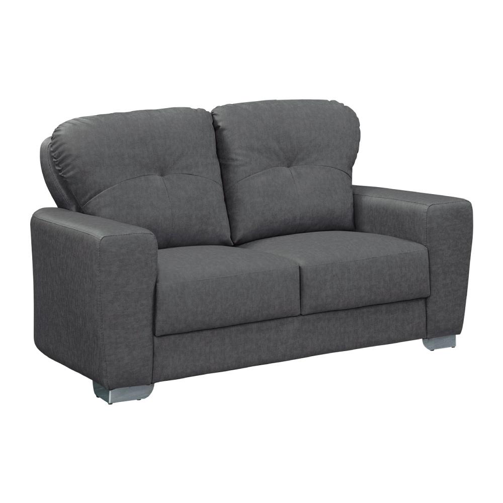 文創集 曼蒂卡時尚貓抓皮革二人座沙發-146x89x86cm免組