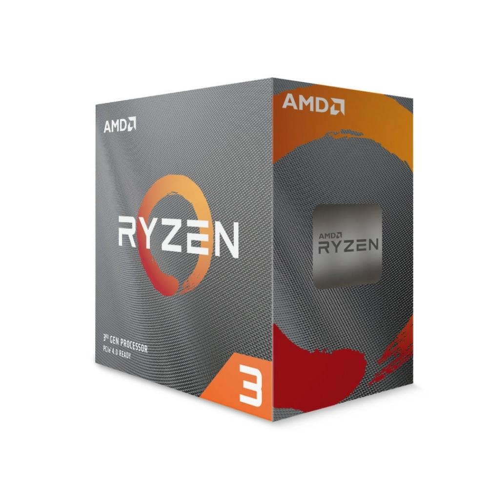 AMD Ryzen3 3100 3.6GHz 四核心 中央處理器