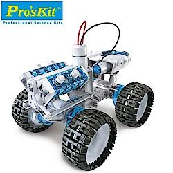 台灣製造Proskit寶工科學玩具 鹽水燃料電池動力引擎越野車GE-752