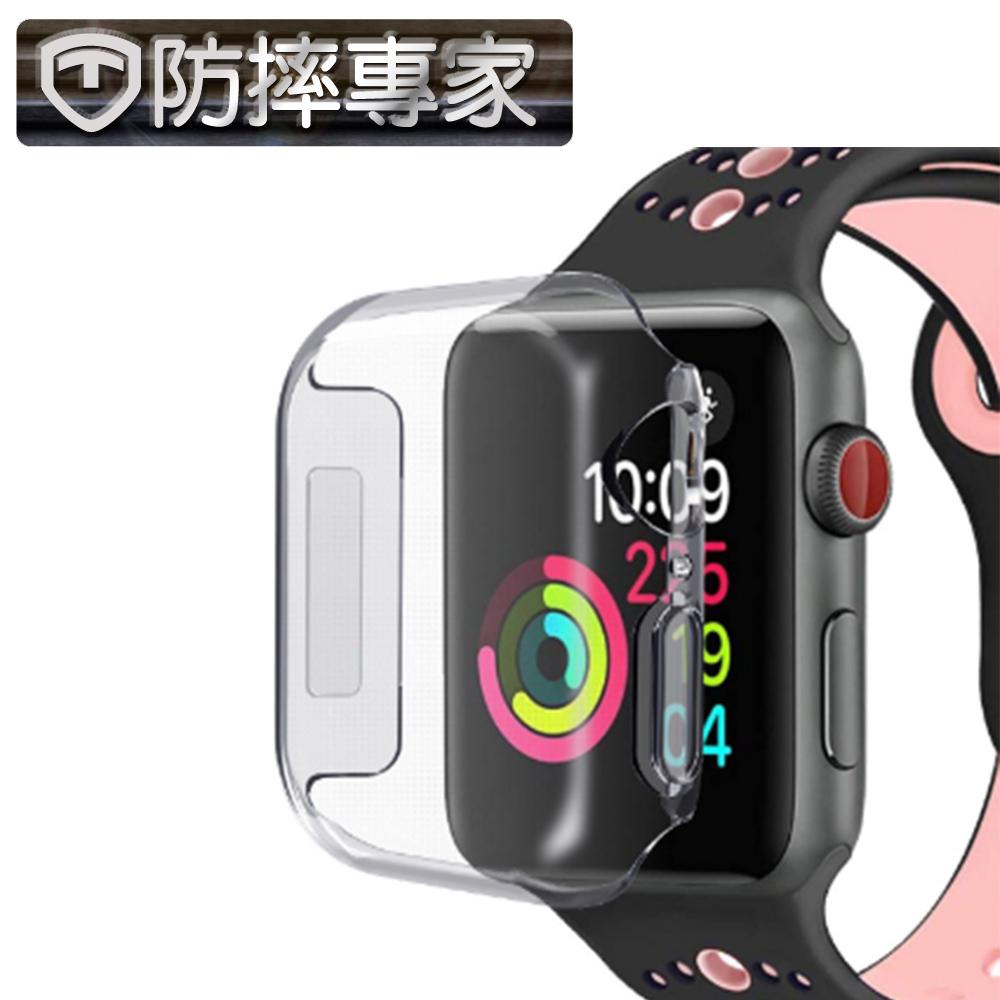 防摔專家 Apple Watch 完美包覆 輕薄透明保護殼-40mm @ Y!購物