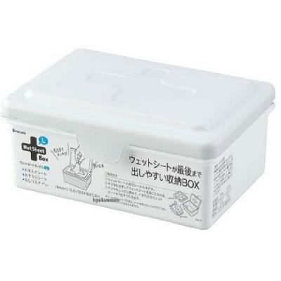 日本製【INOMATA】十字濕紙巾收納盒