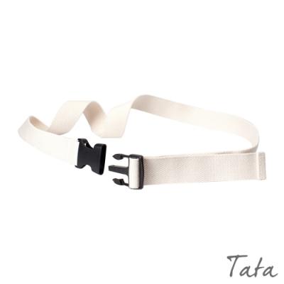 帆布腰帶 共二色 TATA