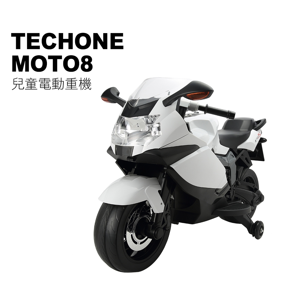 TECHONE MOTO8 仿真跑車重型機車設計可充電兒童電動摩托車/機車帥氣破錶 product image 1
