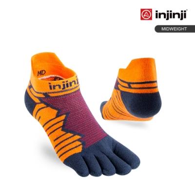 【INJINJI】Ultra Run終極系列五趾隱形襪 [赤紅]