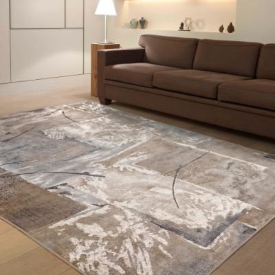 范登伯格 - 絕代 進口絲質地毯-拼圖 (135x195cm)