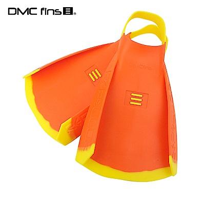 澳洲DMC 訓練用專業蛙鞋 橘黃 REPELLOR FINS