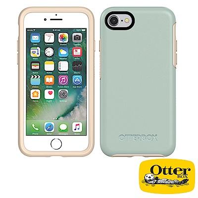 OtterBox iPhone7 / iPhone8炫彩幾何系列保護殼-文青綠