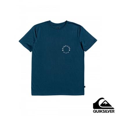 【QUIKSILVER】HIGHER GROUND SS T恤 海軍藍