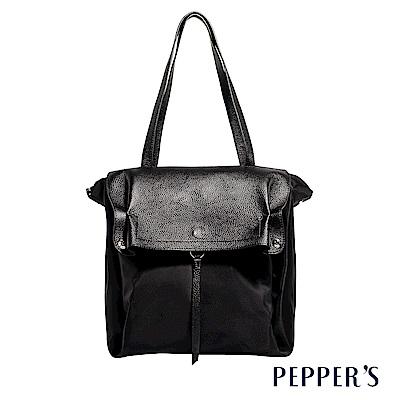 PEPPER`S Blake 個性2WAY肩背包 - 黑