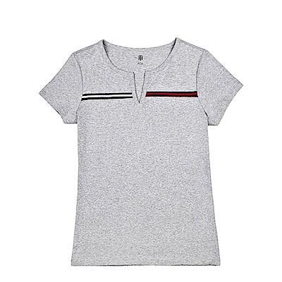 Tommy Hilfiger 女 短袖 T恤 灰 0944