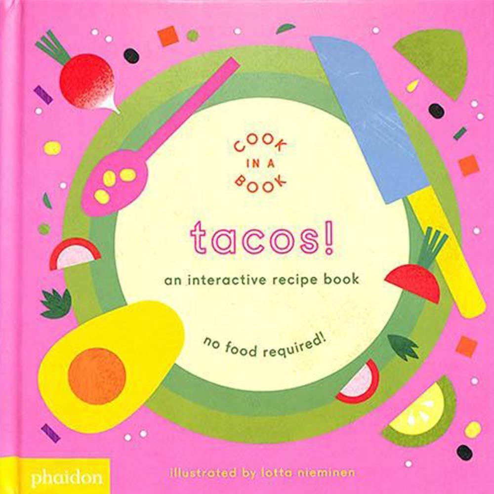 Tacos! An Interactive Recipe Book 互動式食譜操作書