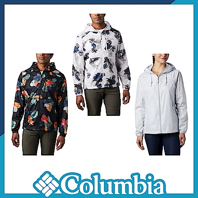 Columbia 哥倫比亞 男女款- 防潑水風衣-3色