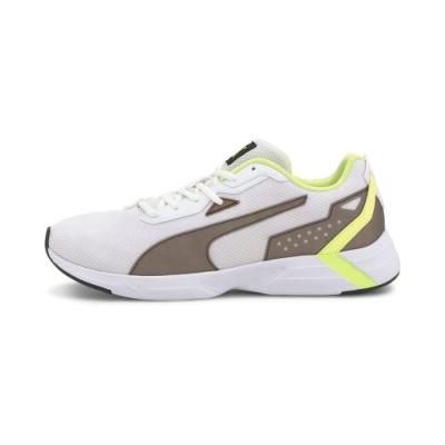 PUMA-Space Runner 男女慢跑運動鞋-白色