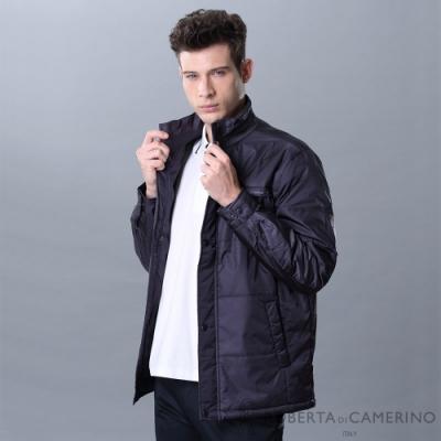 ROBERTA諾貝達 帥氣型男 內裡鋪棉夾克外套 紫灰