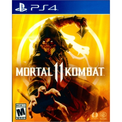 真人快打 11 Mortal Kombat 11 - PS4 中英文美版