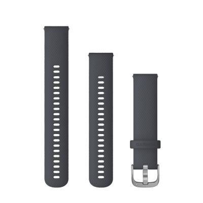 GARMIN Quick Release (20mm) VENU 矽膠錶帶
