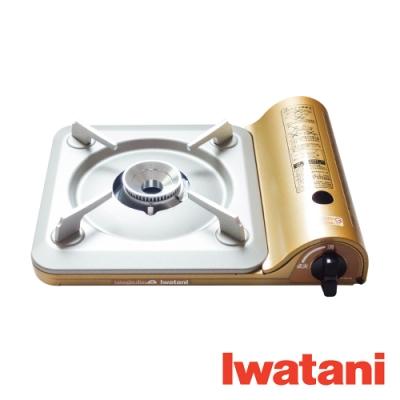 IWATANI岩谷 3.3kW 薄型高效瓦斯爐 (50週年限定金色) SS-50