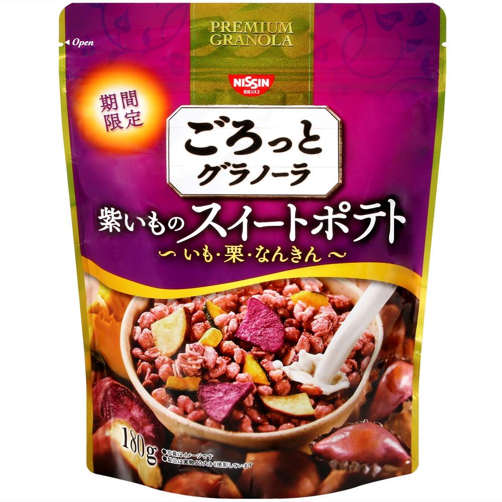 日清 紫綜合穀片-紫甘藷,栗子,南瓜(180g)