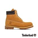 Timberland 男款小麥色磨砂革防水六吋靴|73540