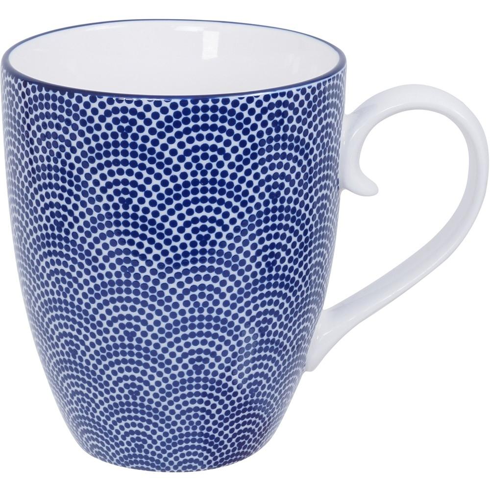 《Tokyo Design》瓷製馬克杯(扇點藍325ml)