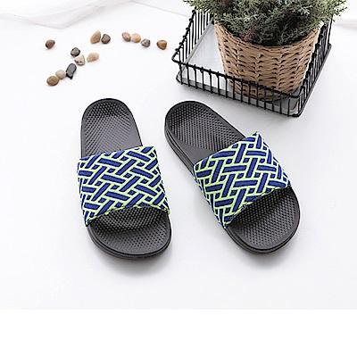 FunPlus+ 極簡質感室外拖鞋-綠
