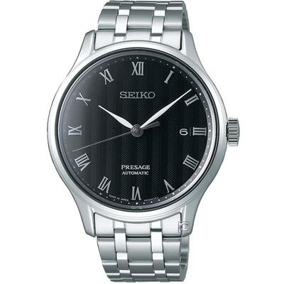 SEIKO Presage 羅馬機械腕錶(SRPC81J1)黑/41mm