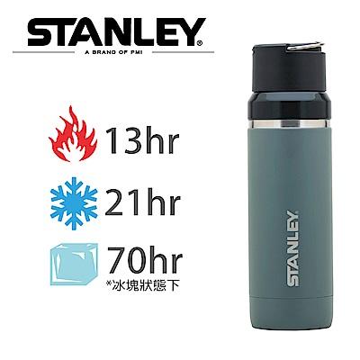 美國Stanley GO陶瓷真空保溫瓶1L-軍灰色