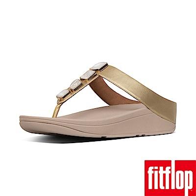 FitFlop SHELLSTONE 夾腳涼鞋金色