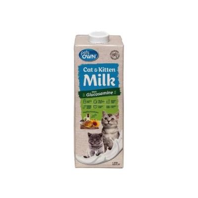 澳洲pets OWN Milk寵物專屬牛奶-幼貓、貓咪專用 1LITRE/33.8FL.OZ(8入組)