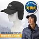 SNOW TRAVEL 中性新款 雙層防寒遮耳保暖棒球帽.鴨舌帽.可調式保暖護耳_黑 product thumbnail 1