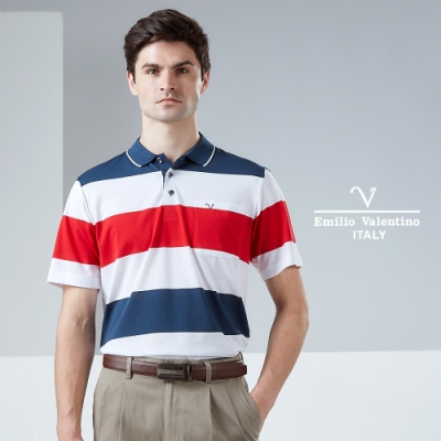 Emilio Valentino范倫鐵諾機能透氣POLO衫(21-9V2816)