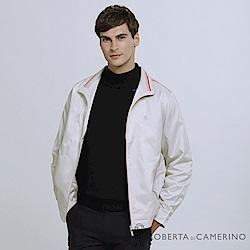 ROBERTA諾貝達 台灣製 運動機能 簡約百搭 夾克外套 米白