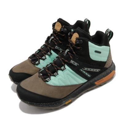 Merrell 戶外鞋 Zion Waterproof 運動 男鞋 登山 越野 耐磨黃金大底 中筒 抗菌防臭 黑 綠 ML500105