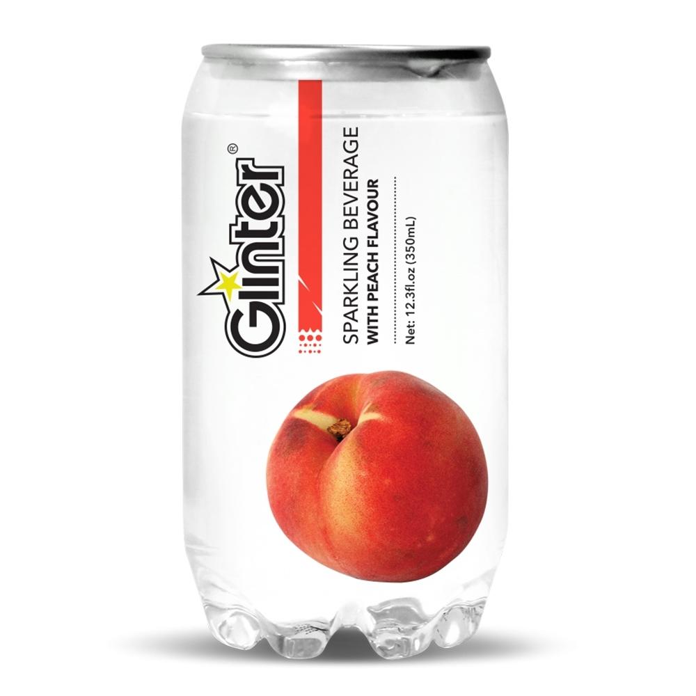 Glinter 氣泡飲-水蜜桃風味(350ml)
