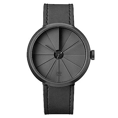 22四度空間水泥錶-黯影款/42mm