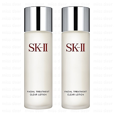 *SK-II 亮采化妝水160ml x2