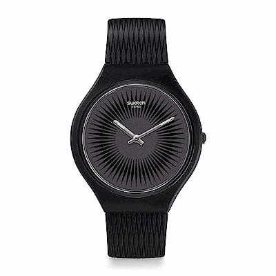 Swatch SKIN超薄系列 SKINNELLA 超薄極黑手錶
