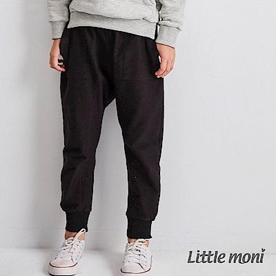 Little moni 經典素色哈倫褲 (2色可選)