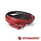 ARTISAN & ARTIST 義大利牛革相機背帶 ACAM-280L (加長版/紅)