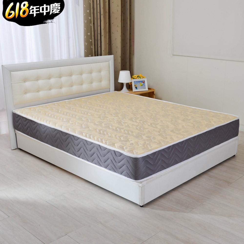 (618限定)單大3.5尺-LooCa 蜂巢透氣圍邊獨立筒床墊
