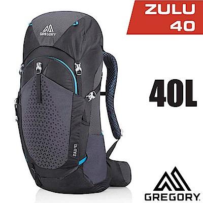 美國 GREGORY  Zulu 40 專業健行登山背包40L_臭氧黑