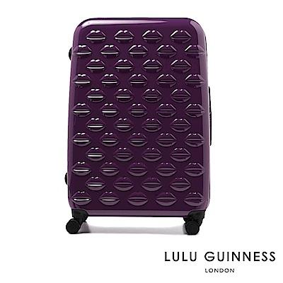LULU GUINNESS LIPS SPINNER 行李箱-28吋 (鬱金香紫)