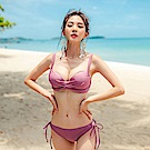 Biki比基尼妮泳衣   嘉納二件式泳衣美胸比基尼(M-XL)