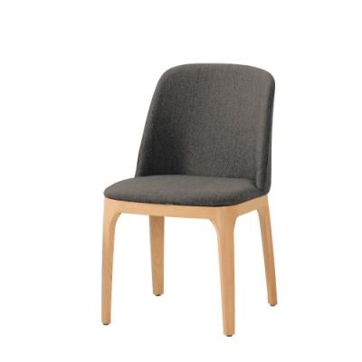 MUNA 席拉餐椅(五金腳)(1入)共兩色 48X61X83cm