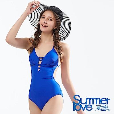 夏之戀SUMMERLOVE 大女連身三角泳衣